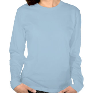 """"""":-) B"""" Ladies Long Sleeve (Fitted) Shirts"""