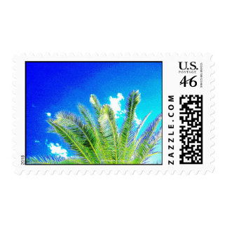 B LUE SKIES AND GREEN PALMS STAMP