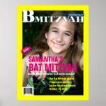 B Mitzvah Magazine Poster
