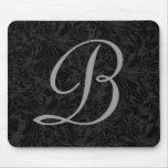 B :: Monogram B Elegant Mouse Pad