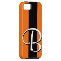 B Monogram Tiger-Striped IPhone 5 Case