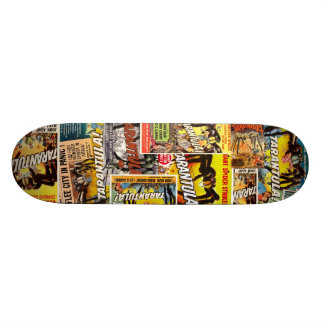 B Movie Poster Deck #2 Skate Board Decks
