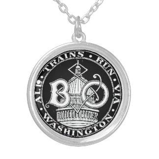 B+O Blue Line real entrena al collar redondo 1910