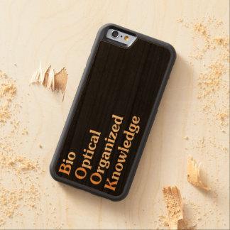 B.O.O.K. CARVED CHERRY iPhone 6 BUMPER CASE