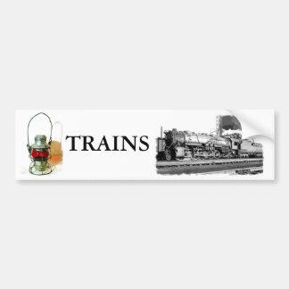 B&O Railroad Art Bumper Sticker