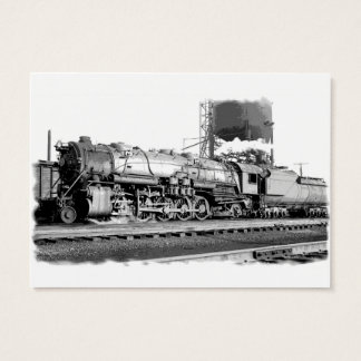 B&O Railroad Art Business Card