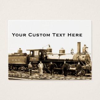 B&O Railroad Engine 932 Business Card