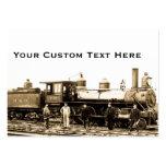B&O Railroad Engine 932 Business Card Templates