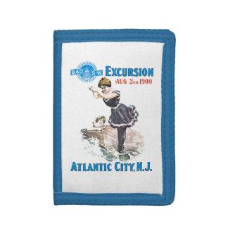 B+O Railroad Excursion 1900 Nylon Wallet