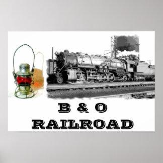 B & O Railroad Poster