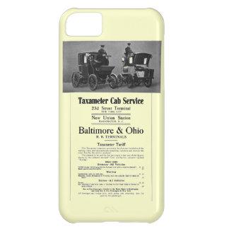 B+O Railroad Taxameter Cab Service 1908 Cover For iPhone 5C