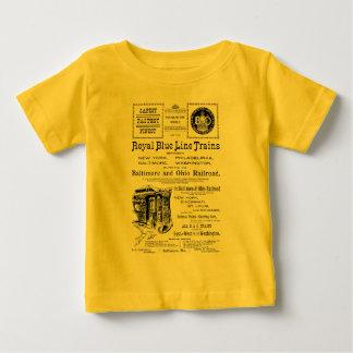 B+O Royal Blue Line Trains 1910 Baby T-Shirt