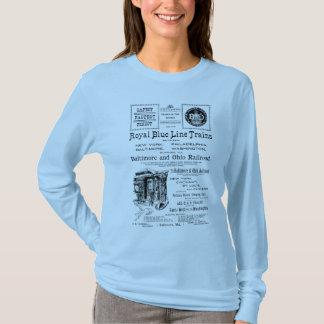 B+O Royal Blue Line Trains 1910 T-Shirt