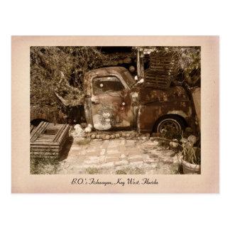 B.O.'s Fish Wagon Postcard