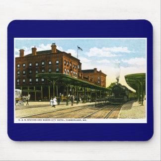 B&O Station, Cumberland, Maryland Mouse Pad