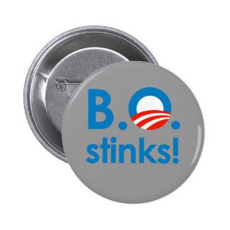 B.O. Stinks / Anti-Obama Button