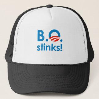 B.O. Stinks / Anti-Obama Trucker Hat