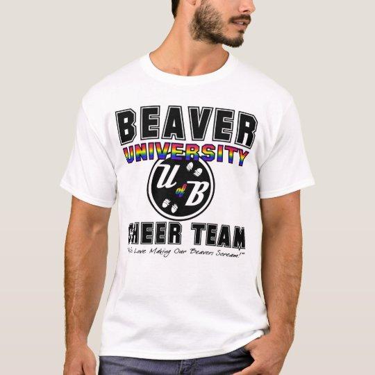 B of U Cheer Team T-Shirt