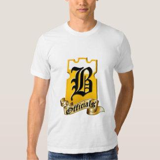 B Officials - Mla. T Shirt