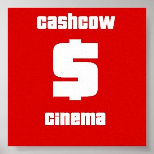 B & P: Cashcow Cinema Poster