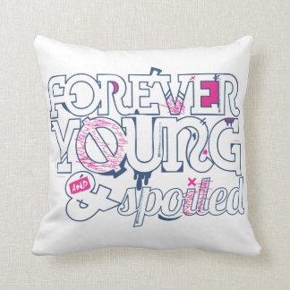 B&p para siempre joven y estropeado de la almohada