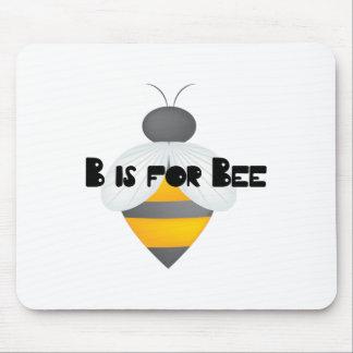 B para la abeja tapete de ratón