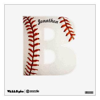 B personalizado para la etiqueta de la pared del b