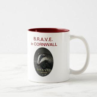 B.R.A.V.E. mug