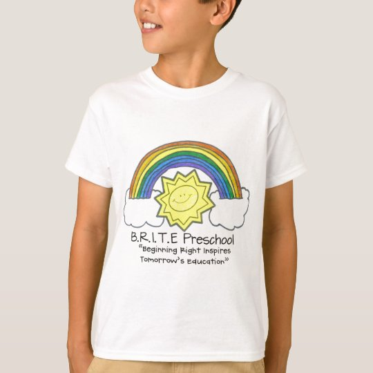 B.R.I.T.E. Preschool T-Shirt