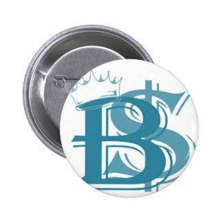 B R Logo Pinback Buttons