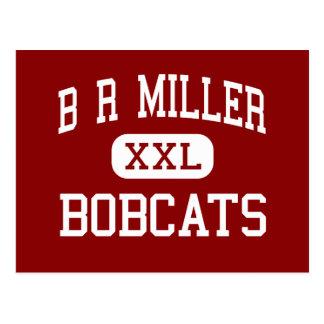 B R Miller - linces - joven - Marshalltown Iowa Tarjetas Postales