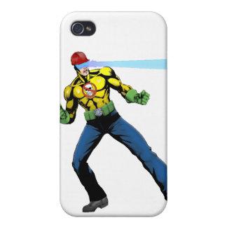 B-Safe Comics - Safe-T-Man Case iPhone 4/4S Covers