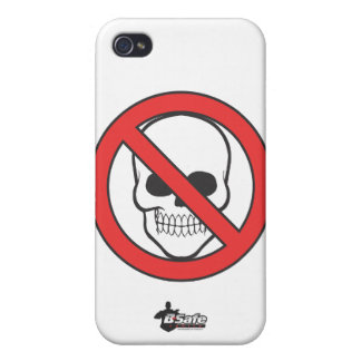B-Safe Comics - Safe-T-Man Logo Case iPhone 4/4S Case