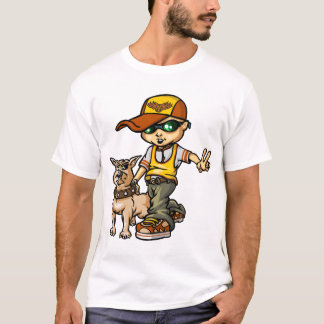 B servant boy and dog T-Shirt
