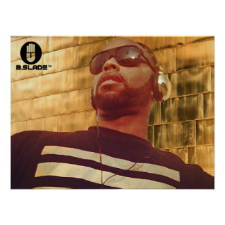 B.Slade™ - Calles del poster del oro
