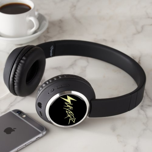 B.Slade - Slayerz Logo Bluetooth Headset Headphones