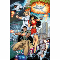 al rio, thomas mason, action, adventure, crime, detective, comics, comic book, art, illustration, Photo Sculpture with custom graphic design