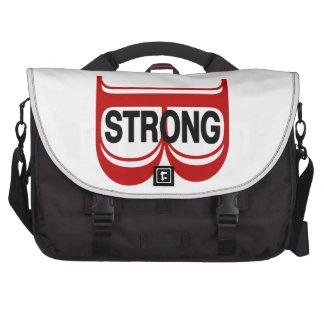 B Strong Boston Laptop Bag
