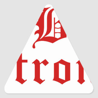 b-strong-old-l-brown.png triangle sticker