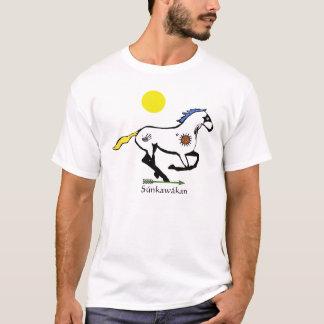 B. Súnkawákan - Lakota Sioux Horse T-Shirt