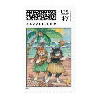 B & T #10 Hula Stamp