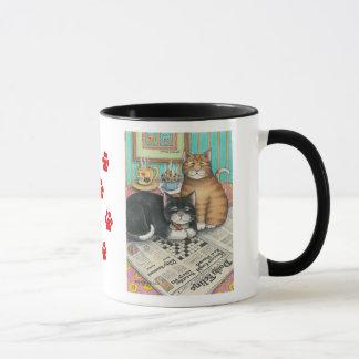 B & T # 12 Crossword Mug