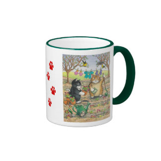 B & T #15 Garden Mug