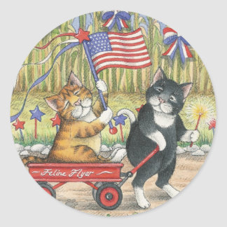 B & T #19 Patriotic Stickers