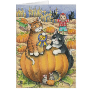 B & T #22 Halloween Note Card
