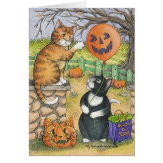 B & T #34 Halloween Note Card