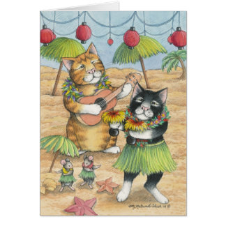 B & T #39 Aloha Note Stationery Note Card