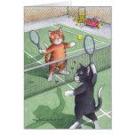 B & T #56 Tennis Birthday Note Greeting Card
