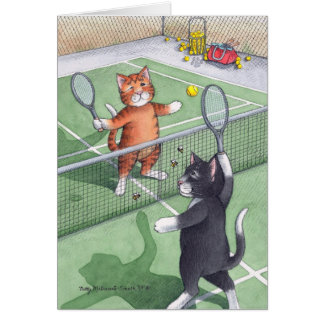 B & T #56 Tennis Birthday Note Stationery Note Card
