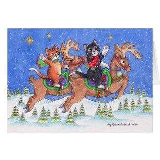 B & T #68 Reindeer Notecard